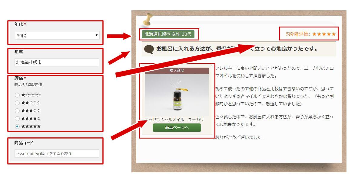詳細ページ編集画面を利用し、デザインを施します。